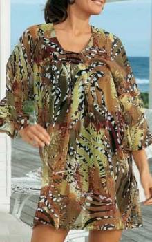 Модные расцветки туник фото (17)