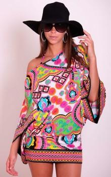 Модные расцветки туник фото (3)