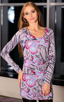 Модные расцветки туник фото (40)