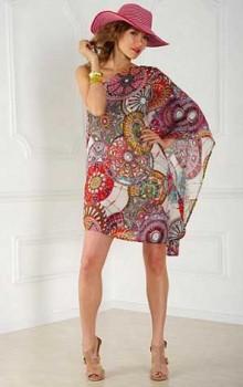 Модные расцветки туник фото (44)