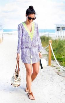 Модные расцветки туник фото (48)