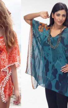 Модные расцветки туник фото (54)