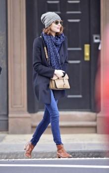 Повседневные образы с узкими брюками, джинсами фото (18)