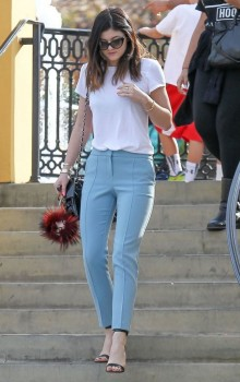 Повседневные образы с узкими брюками, джинсами фото (19)