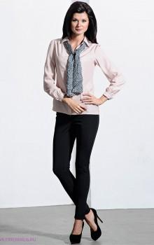 Повседневные образы с узкими брюками, джинсами фото (4)