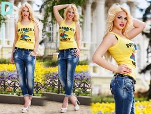 С чем носить джинсы бойфренд (119)