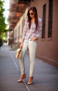 С чем носить джинсы бойфренд (126)