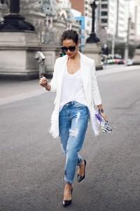 С чем носить джинсы бойфренды (114)