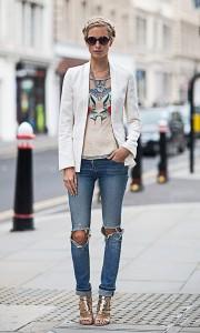 С чем носить джинсы бойфренды (116)