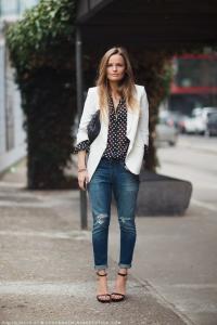 С чем носить джинсы бойфренды (117)