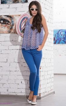 С чем носить узкие женские брюки фото (10)
