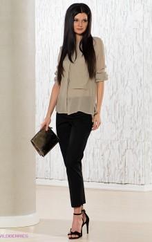 С чем носить узкие женские брюки фото (11)