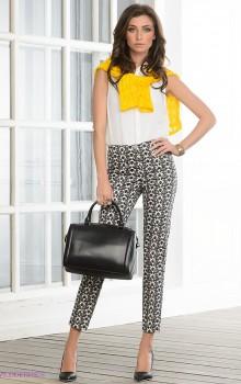 С чем носить узкие женские брюки фото (13)