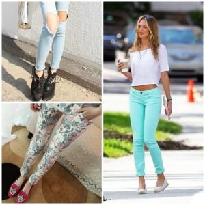С чем носить узкие женские брюки фото (22)