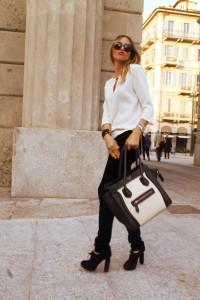 С чем носить узкие женские брюки фото (25)