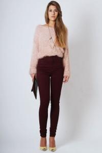 С чем носить узкие женские брюки фото (26)