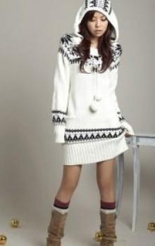 что носить с туникой зимой фото (21)
