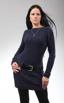 что носить с туникой зимой фото (5)
