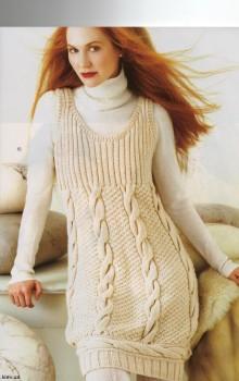 что носить с туникой зимой фото (7)