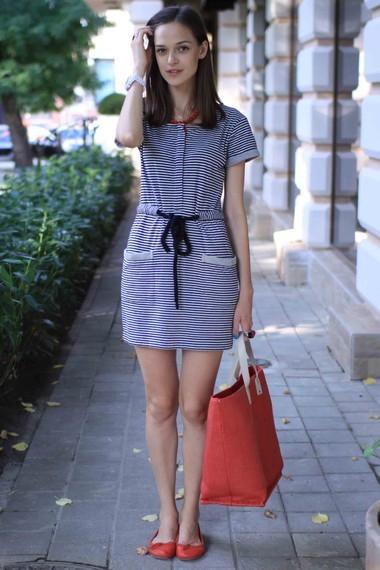 Короткие платья с балетками