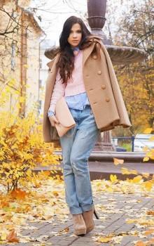 с чем носить бежевые и коричневые ботильоны (24)