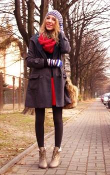с чем носить бежевые и коричневые ботильоны (26)