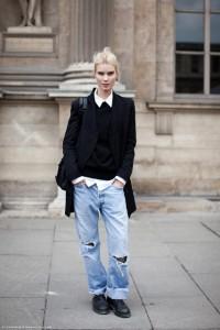 с чем носить джинсы бойфренды фото(10)