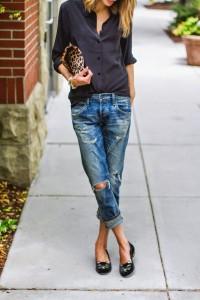 с чем носить джинсы бойфренды фото(106)