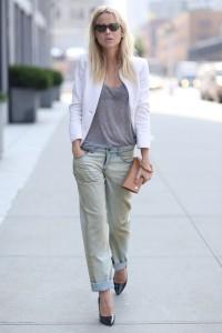 с чем носить джинсы бойфренды фото(108)