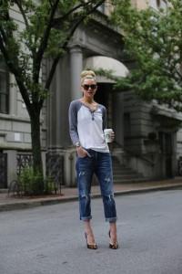 с чем носить джинсы бойфренды фото(34)