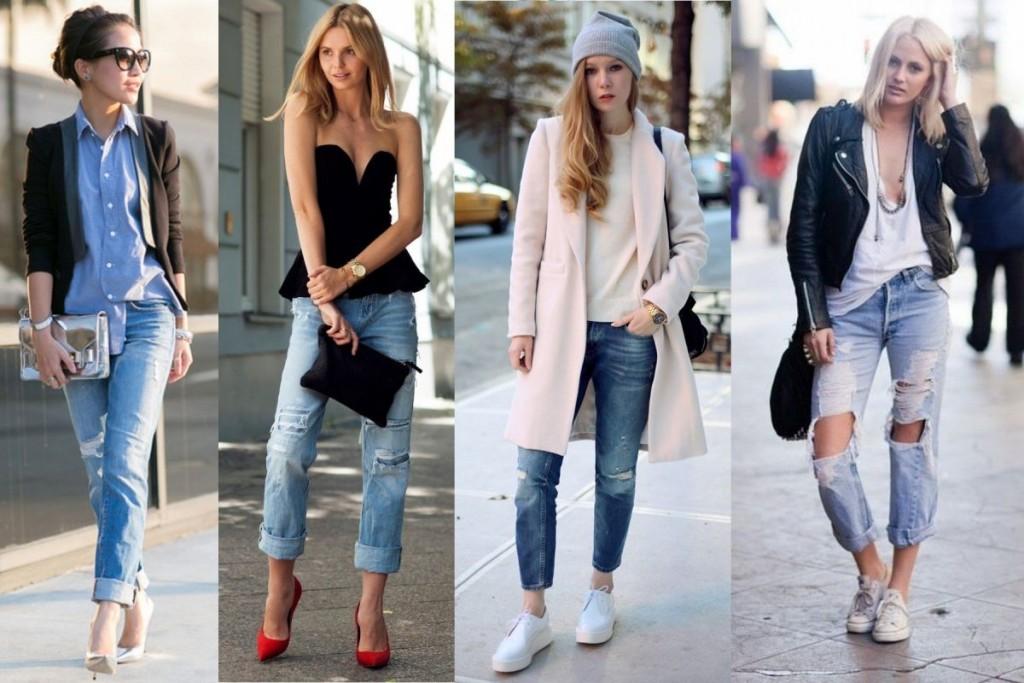 с чем носить джинсы бойфренды фото(48)