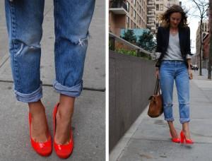 с чем носить джинсы бойфренды фото(55)
