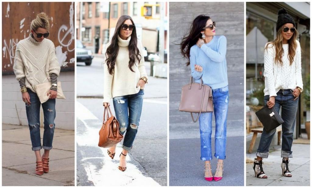 с чем носить джинсы бойфренды фото(56)