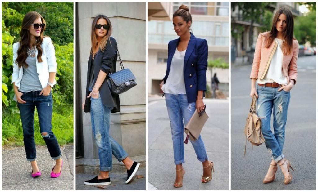 с чем носить джинсы бойфренды фото(60)