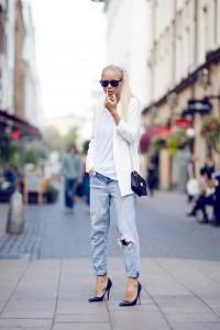 с чем носить джинсы бойфренды фото(82)