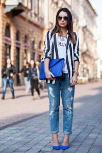 с чем носить джинсы бойфренды фото(9)