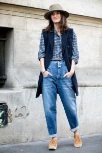 с чем носить джинсы бойфренды фото(91)