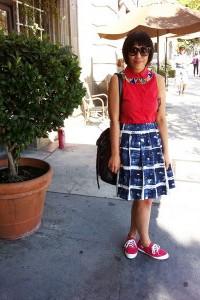 с чем носить красные и голубые кеды фото (18)