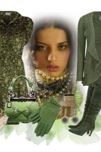 эеленые и бордовые сапоги с чем носить фото (3)