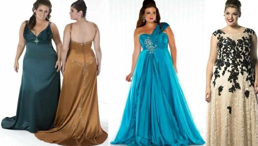 Модные новогодние платья для полных на 2017 год фото (11)