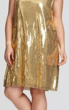 Модные новогодние платья для полных на 2017 год фото (20)