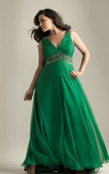 Модные новогодние платья для полных на 2017 год фото (40)