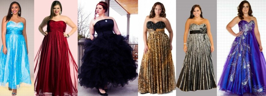 Модные новогодние платья для полных на 2017 год фото (5)