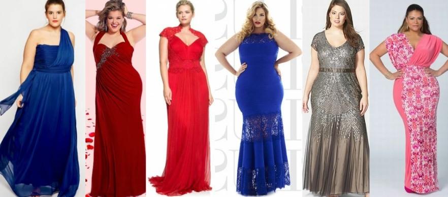 Модные новогодние платья для полных на 2017 год фото (8)