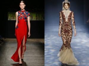 Модные вечерние платья 2017 года фото (38)