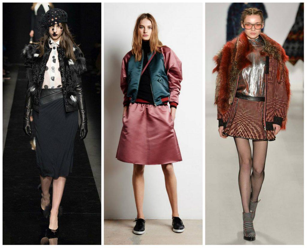 Модные женские куртки осень-зима 2016-2017 фото (30)