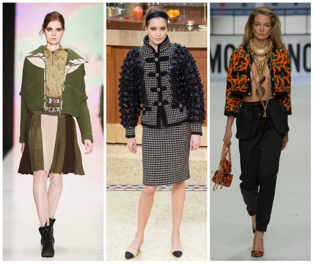 Модные женские куртки осень-зима 2016-2017 фото (33)