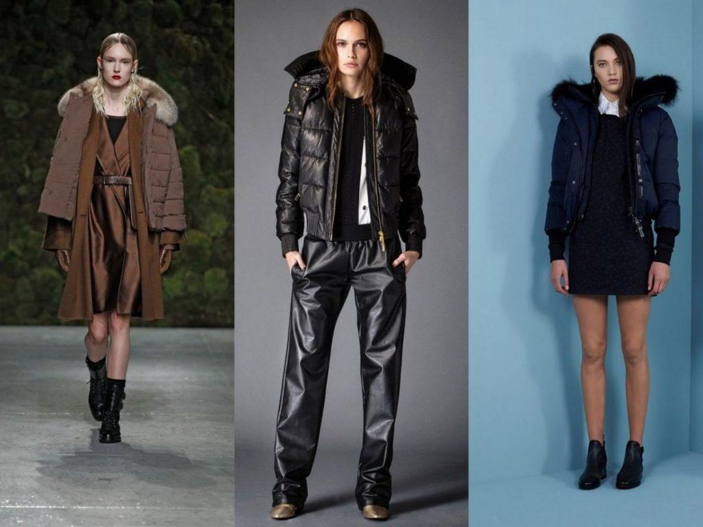 Модные женские куртки осень-зима 2016-2017 фото (34)