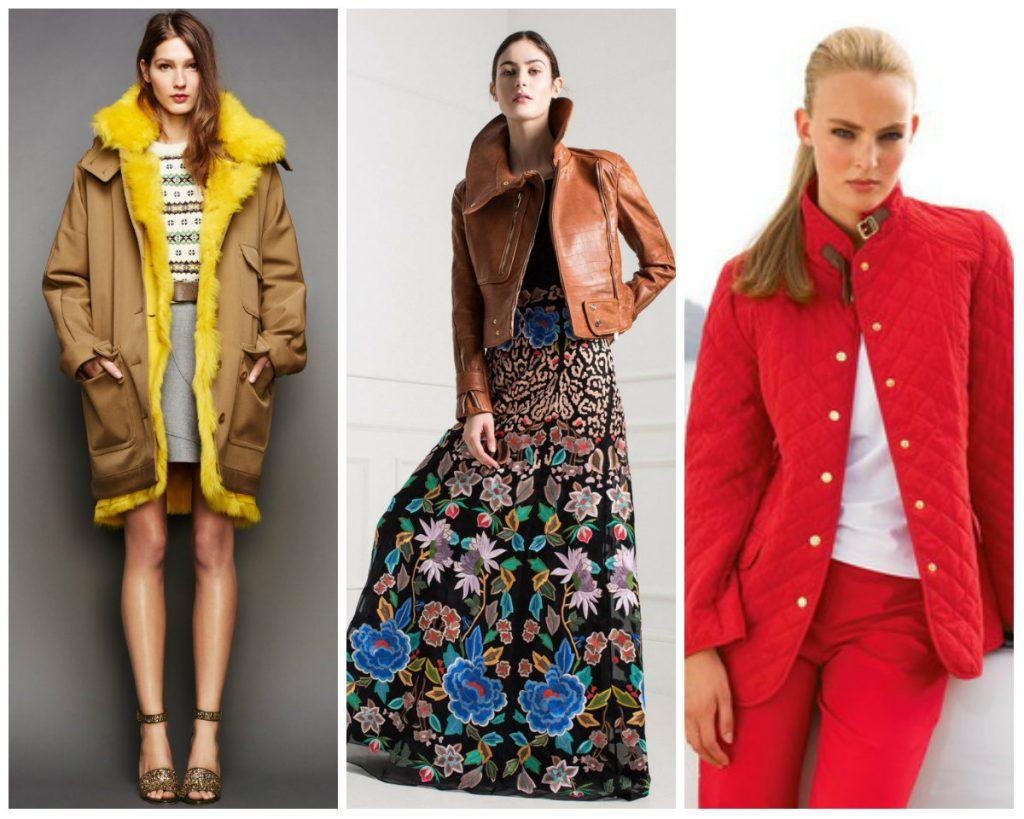 Модные женские куртки осень-зима 2016-2017 фото (41)