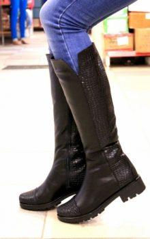 Модные сапоги зима 2017 женские